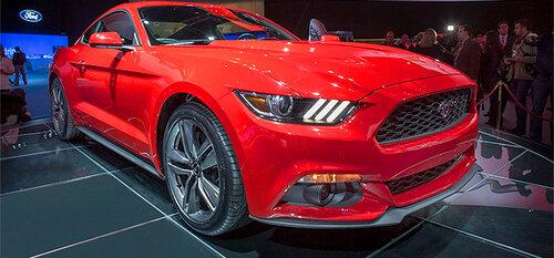 Первая машина нового поколения Ford Mustang будет продана на аукционе