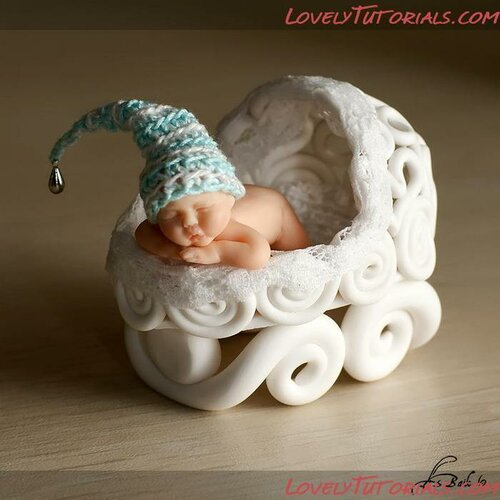 Младенцы из полимерной глины - мастер-класс
