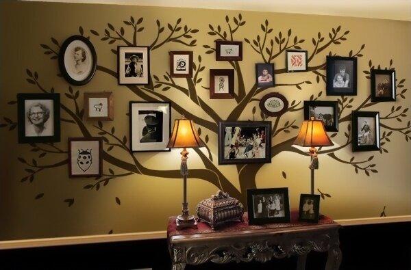 Декор стен фото