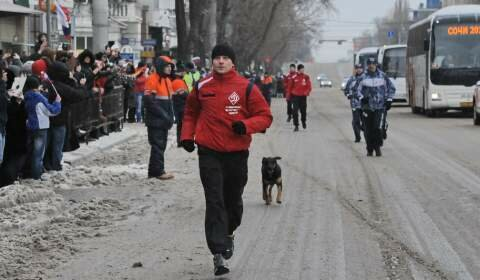 Эстафета Олимпийского огня 2014, Ростов-на-Дону