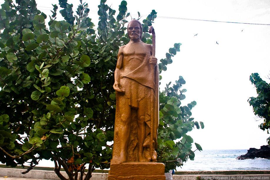 Венесуэла. Чорони. Памятник Ленину