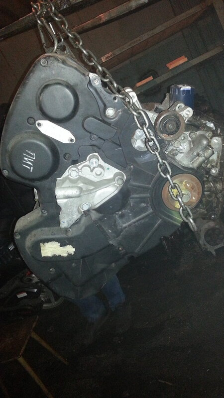 Двигатель  XFX / XFZ / L7X на Peugeot 406 3.0 V6