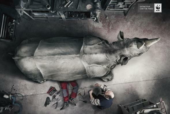 То, что невозможно починить: новая рекламная кампания WWF