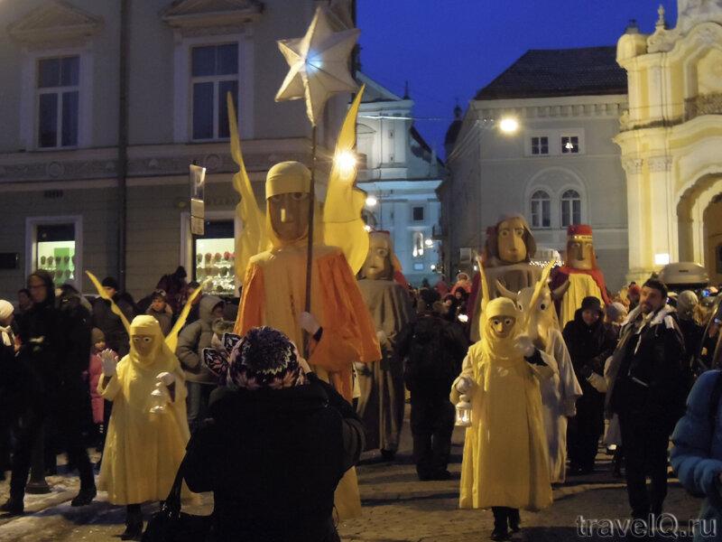 Вильнюс. Шествие Трех Королей