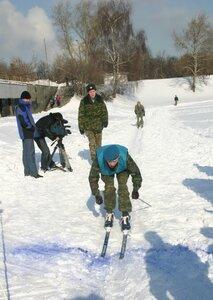 Лыжный военно-патриотчиеский десант
