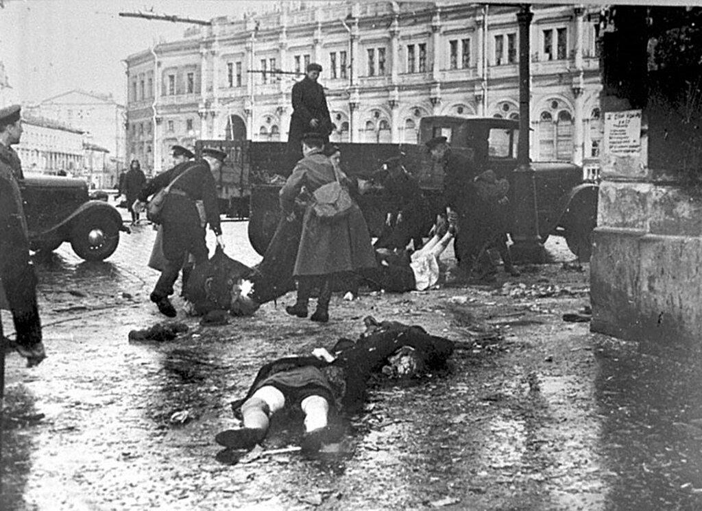 Картинки из блокадного ленинграда