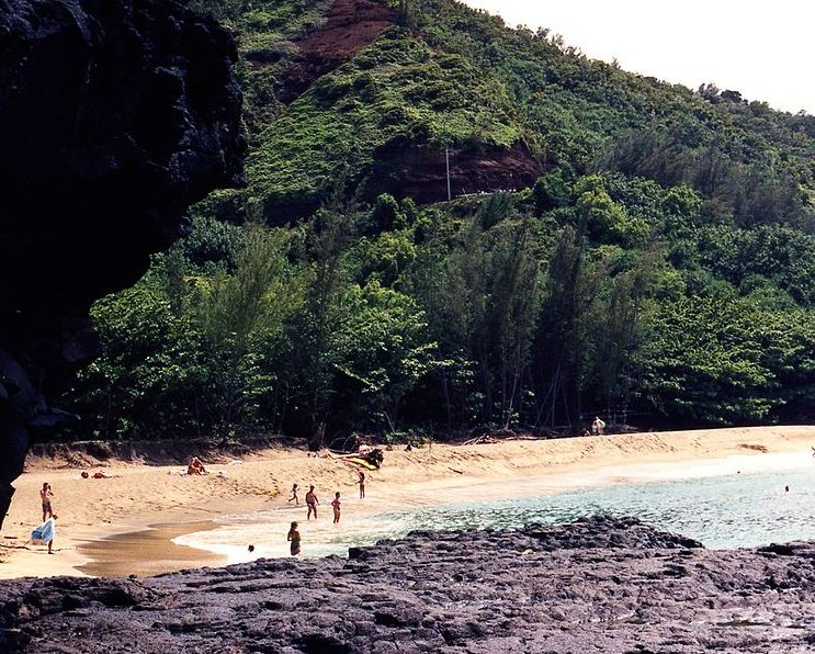 Beach Resorts on the Kauai island