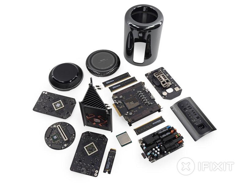 Mac Pro на кусочки