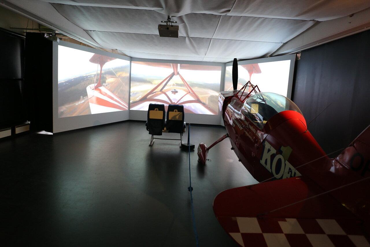 Авиамузей Хельсинки-Вантаа. Экспозиция пилотажных самолетов