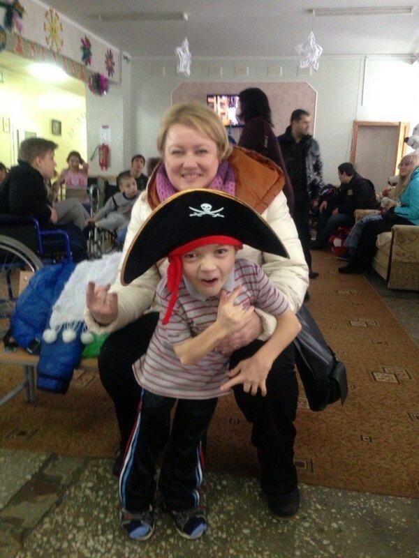 И снова с детьми! :))