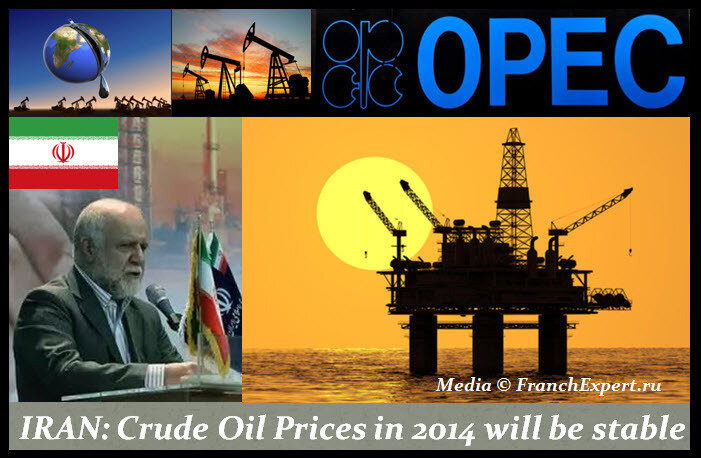 Иран и цены на нефть в 2014 году