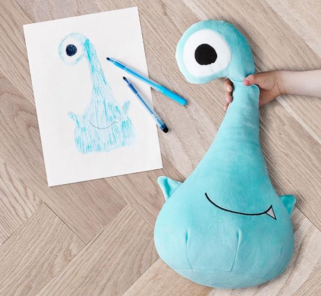 ИКЕА превратила детские рисунки внастоящие игрушки