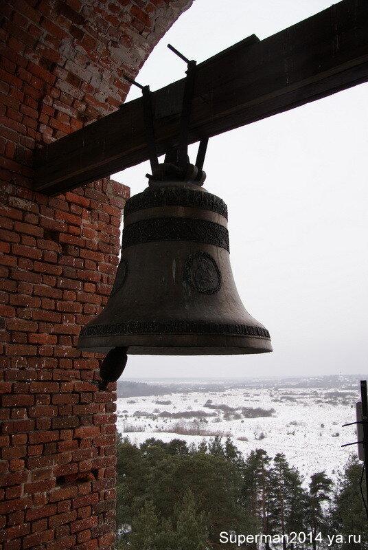 Виды с колокольни церкви Казанской иконы Божией Матери в Заречье