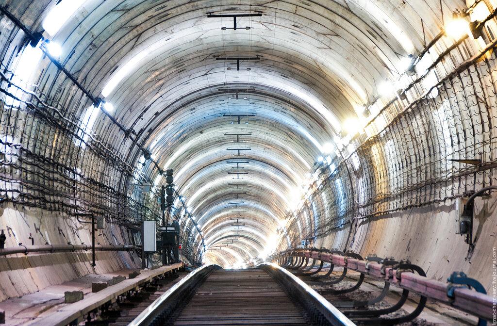 размыв тоннель виктория мониторинг