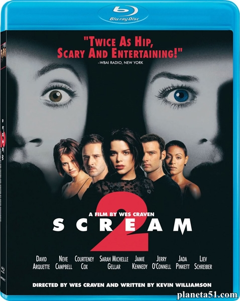 Крик2 / Scream2 (1997/HDRip)