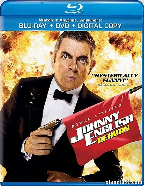 Агент Джонни Инглиш: Перезагрузка / Johnny English Reborn (2011/HDRip)