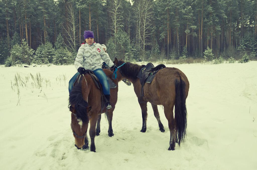 10. Конные экскурсии. С двумя сразу лошадьми справиться труднее