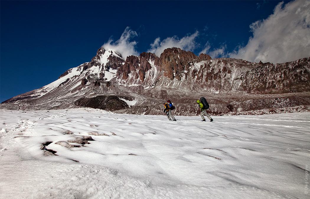 восхождение на гору