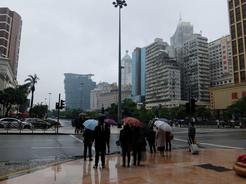Макао - Дождь