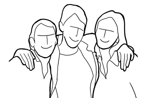 Позирование: позы для групповых портретов 5