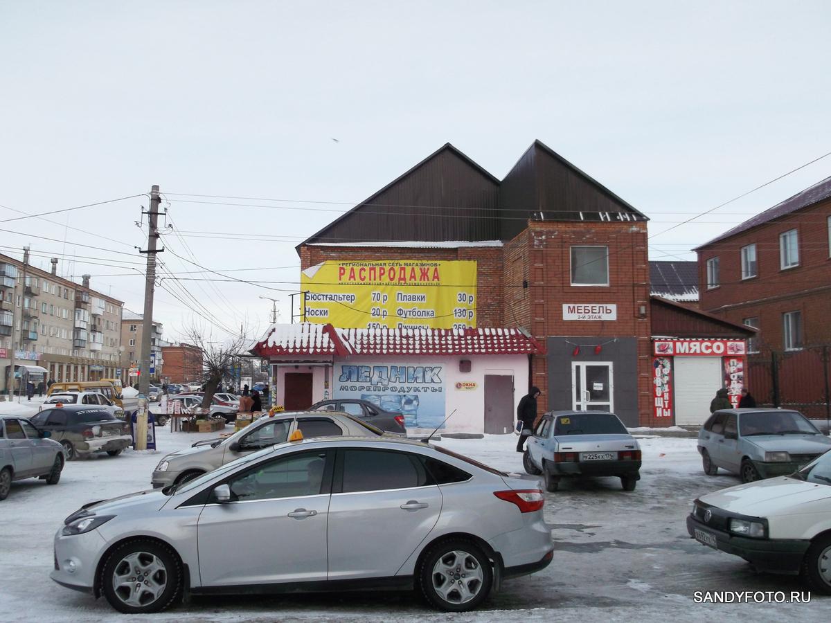 Восстановленная крыша после пожара в магазине «Светлана»
