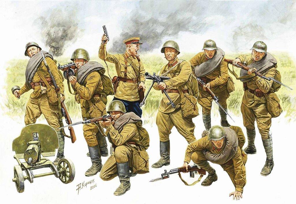 Пехота Красной Армии (Андрей Каращук)