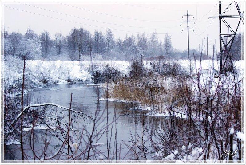 Река Лава и ее окрестности.
