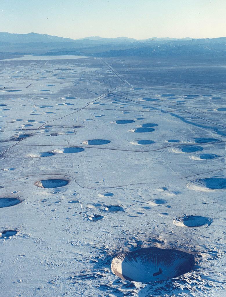 Пустыня Невада сегодня