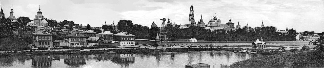 Панорама Сергиевского посада и Лавры