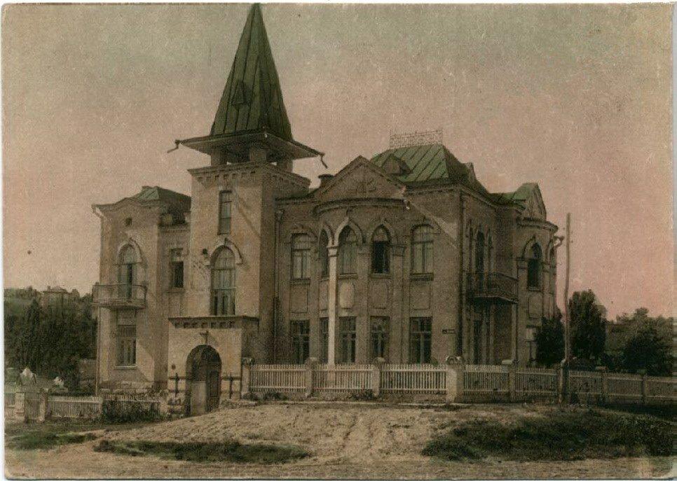 Санаторий «Красный Октябрь», корпус на Толстовской улице