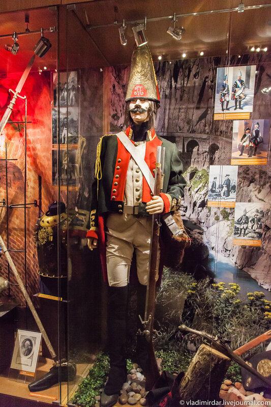 Экспозиция Центрального Музея Вооруженных сил