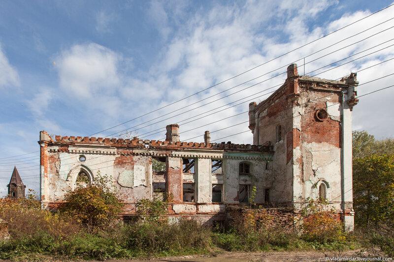 Замок в Колосово