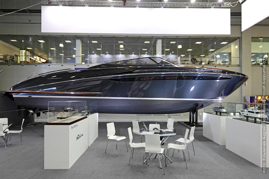 Выставка катеров и яхт Московское Боут Шоу Круизер Riva 44 Rivarama Super