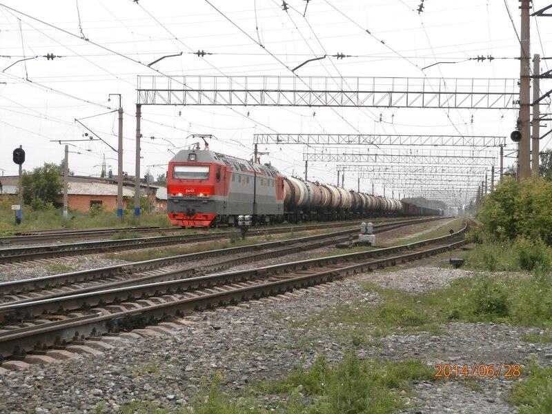 Электровоз 2ЭС6-360, ст. Кунавино