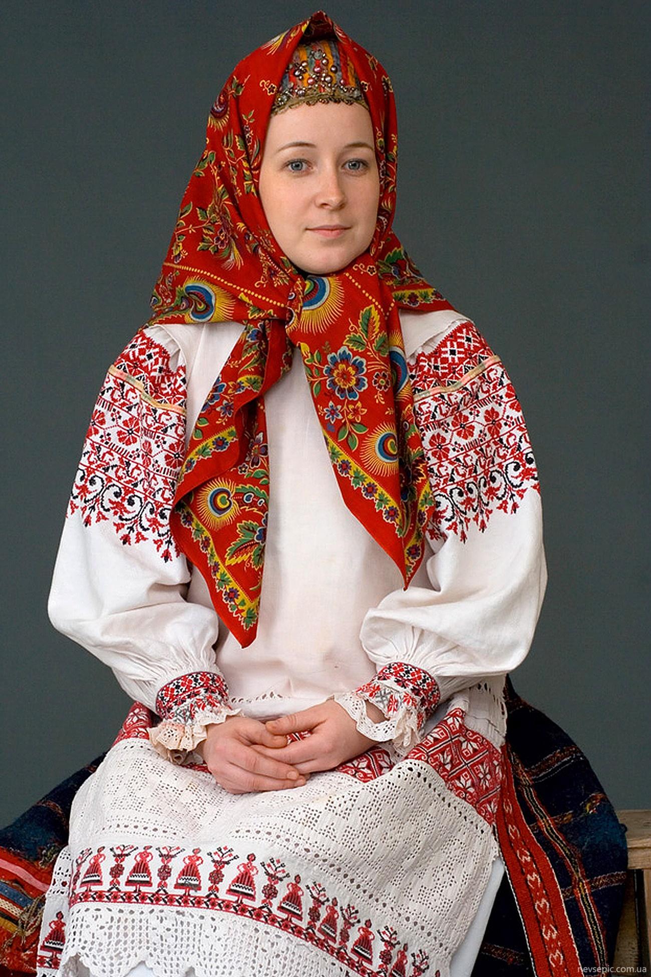 русский костюм народный костюм фото женский