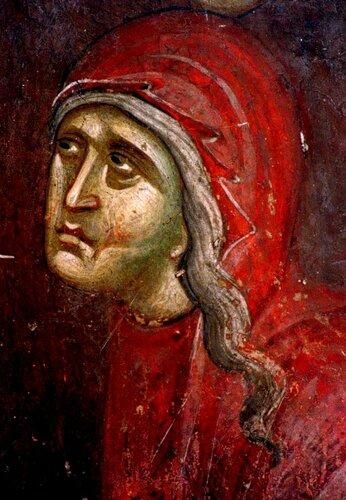 Сошествие во ад (Воскресение Христово). Фреска монастыря Грачаница, Косово, Сербия. Около 1320 года.