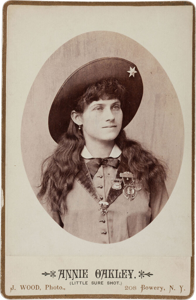 Cabinet Photo of Annie Oakley