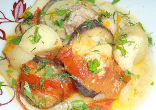 рагу из овощей без мяса