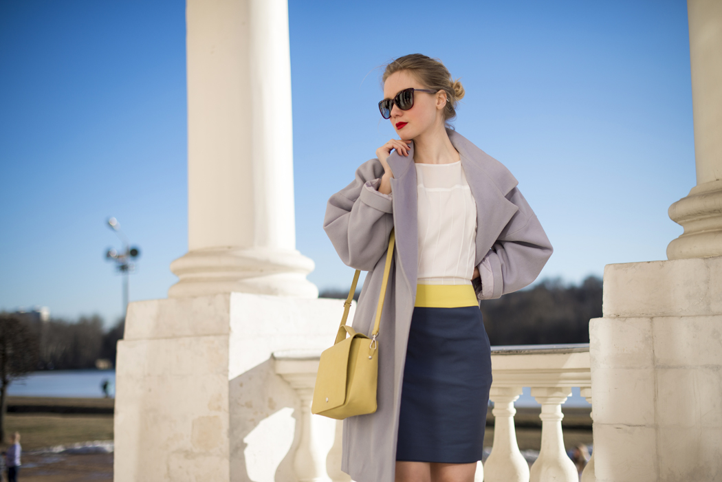 inspiration, streetstyle, spring outfit, moscow fashion week, annamidday, top fashion blogger, top russian fashion blogger, фэшн блогер, русский блогер, известный блогер, топовый блогер, russian bloger, top russian blogger, streetfashion, russian fashion blogger, blogger, fashion, style, fashionista, модный блогер, российский блогер, ТОП блогер, ootd, lookoftheday, look, популярный блогер, российский модный блогер, russian girl, платье с кедами, кусково, kuskovo, mexx, converse, cos, пастельное пальто, с чем носить пастельное пальто, платье в полоску, striped dress, dress with converse, dress with trainers