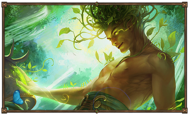 Айлей. Лориайн - бог Земли и Достатка