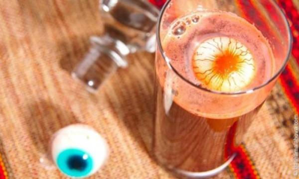 Рецепты праздничных безалкогольных напитков на Хэллоуин