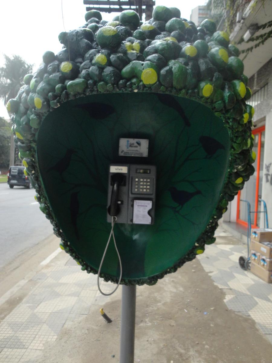Невероятные телефонные будки в Сан-Паулу