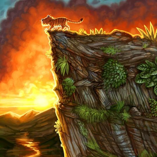 Потрясающие цифровые иллюстрации Фелиции Кано