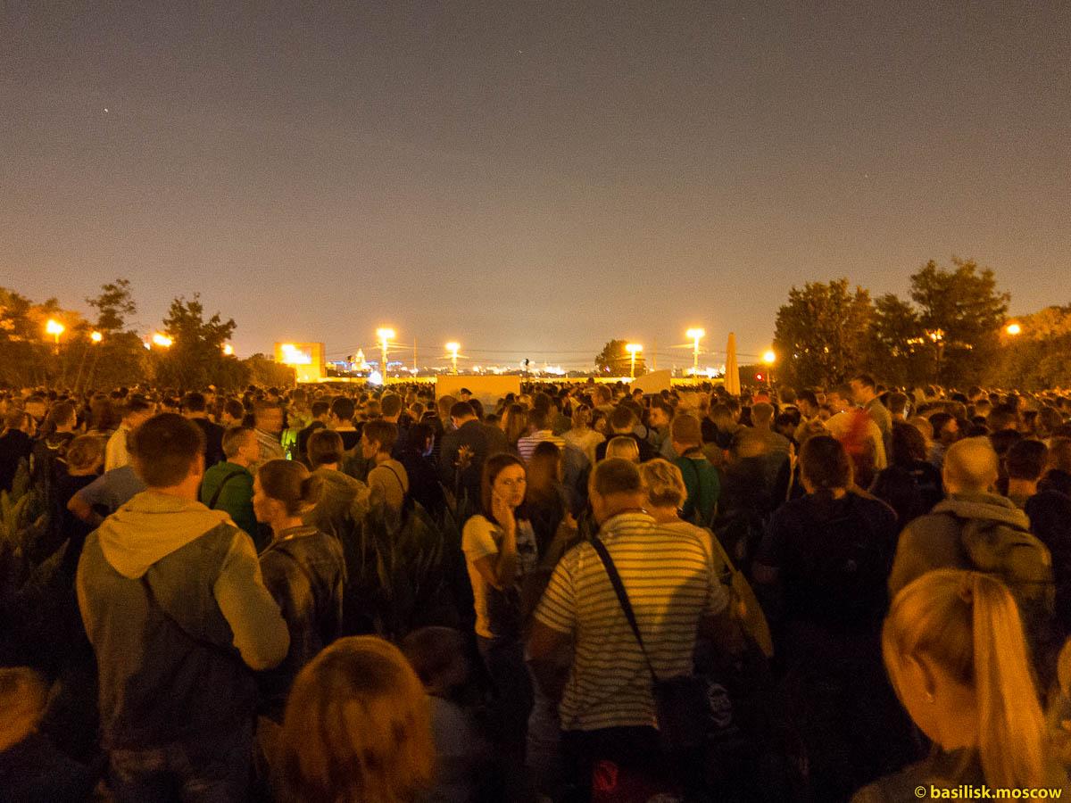 Московский фестиваль фейерверков. 22 августа 2015.