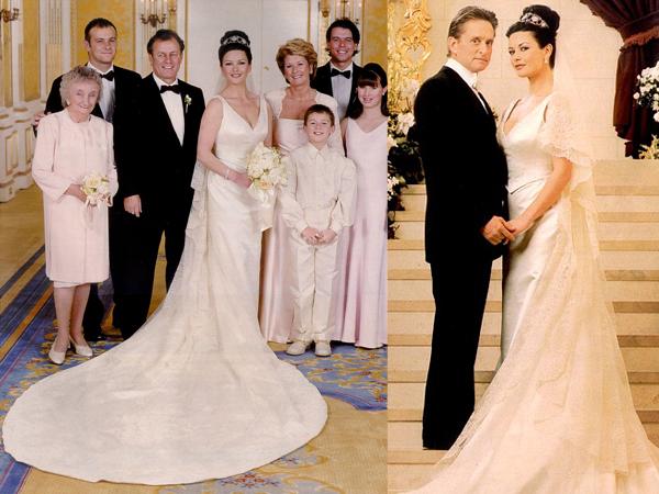 Свадьба Кетрин Зеты-Джонс и Майкла Дугласа