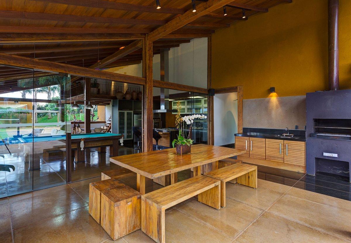 Ana Cristina Faria, Maria Flavia Melo, дом в штате Минас-Жерайс, частный дом в Бразилии, обзор дома в Бразилии, потрясающий вид из окон частного дома