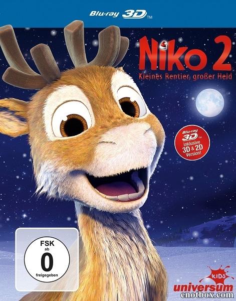 Нико 2 / Niko 2 - Lentäjäveljekset (2012/BDRip/HDRip)
