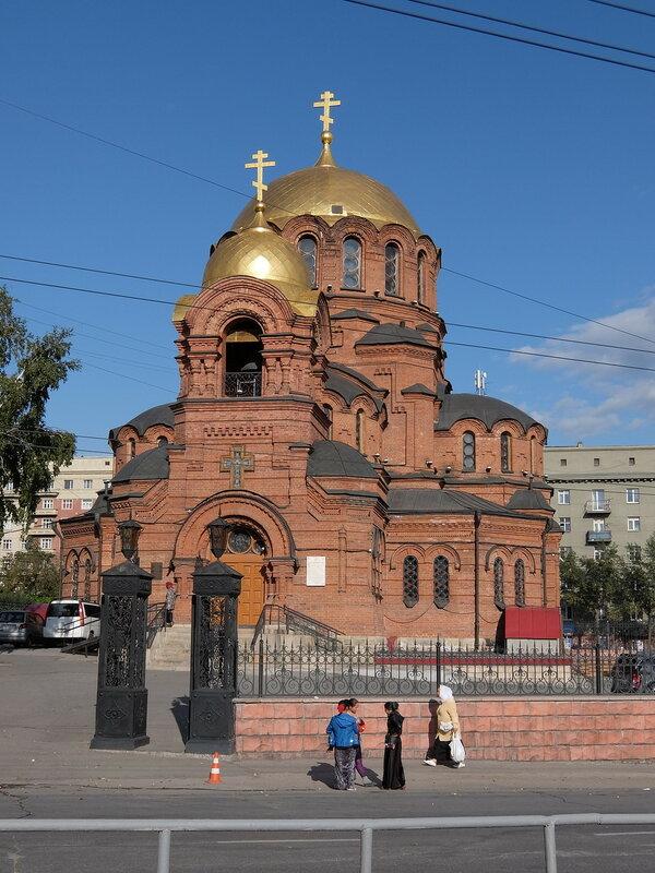 Новосибирск - Собор во имя Александра Невского