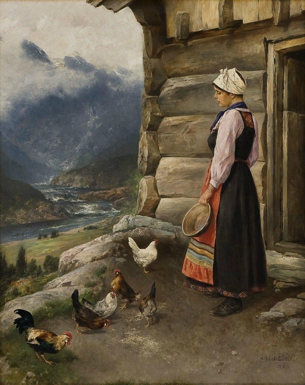 норвежская живопись: