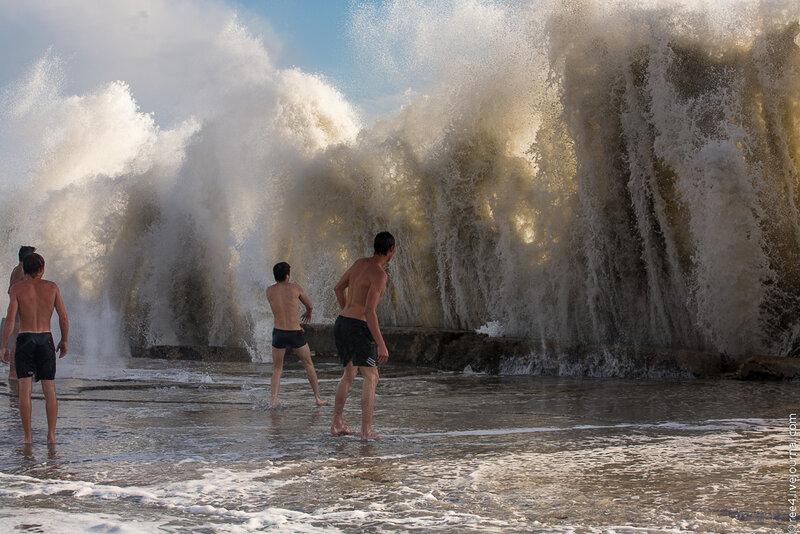 шторм в Сочи